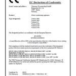 Одобрено СЕ Знак CE означает, что товар, которому он был присвоен, соответствует стандартам потребительской безопасности, здоровья  или безопасности для окружающей среды Германии и Евросоюза