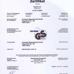 """Немецкий T?V/GS """"German T?V"""" – это национальное независимое учреждение, оценивающее продукцию на предмет безопасности и надежности"""